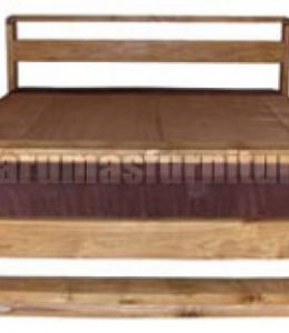 Bed - Satto Mattress size 200L x 180D CM