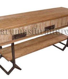 Console table 3 drawers 150l x 40d x 80h