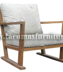 Lounge Chair Charming 73Lx81Dx77H